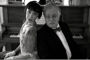 Inara George is on Van Dyke Parks' guest list Wednesday night at the South Pasadena Library.