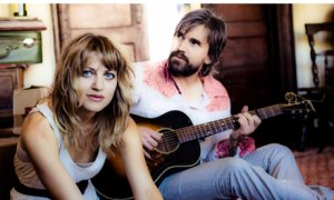"Anais Mitchell and Jefferson Hamer share their ""Child Ballads"" at McCabe's on Friday."
