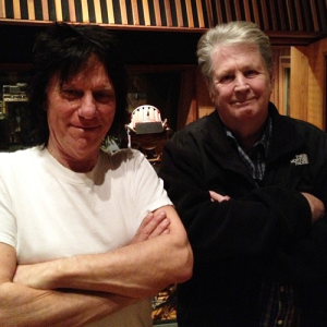 Jeff Beck is guesting on the new Brian Wilson album.