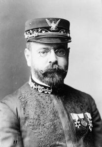 John Philip Sousa.  photo by Elmer Chickering