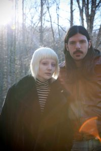 Jessica Lea Mayfield and Seth Avett