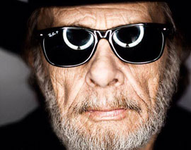 Merle Haggard Plays Friday Night