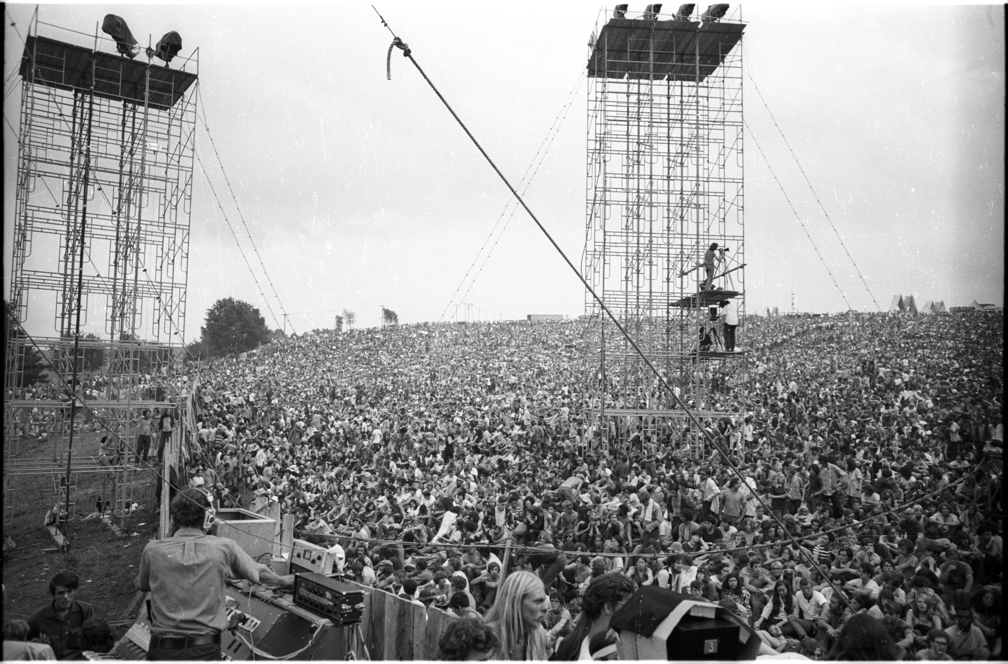 View From Woodstock Stage (c) Henry Diltz